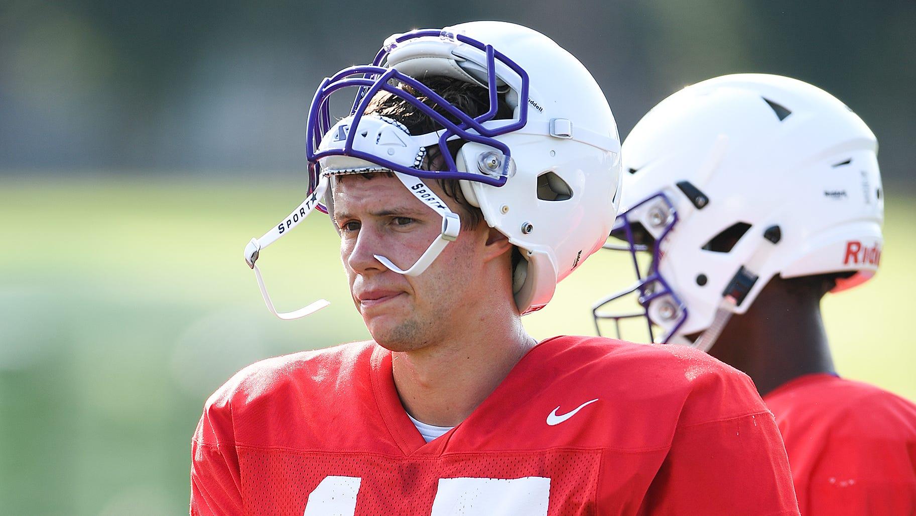 Clemson student Harris Roberts could start at quarterback for Furman