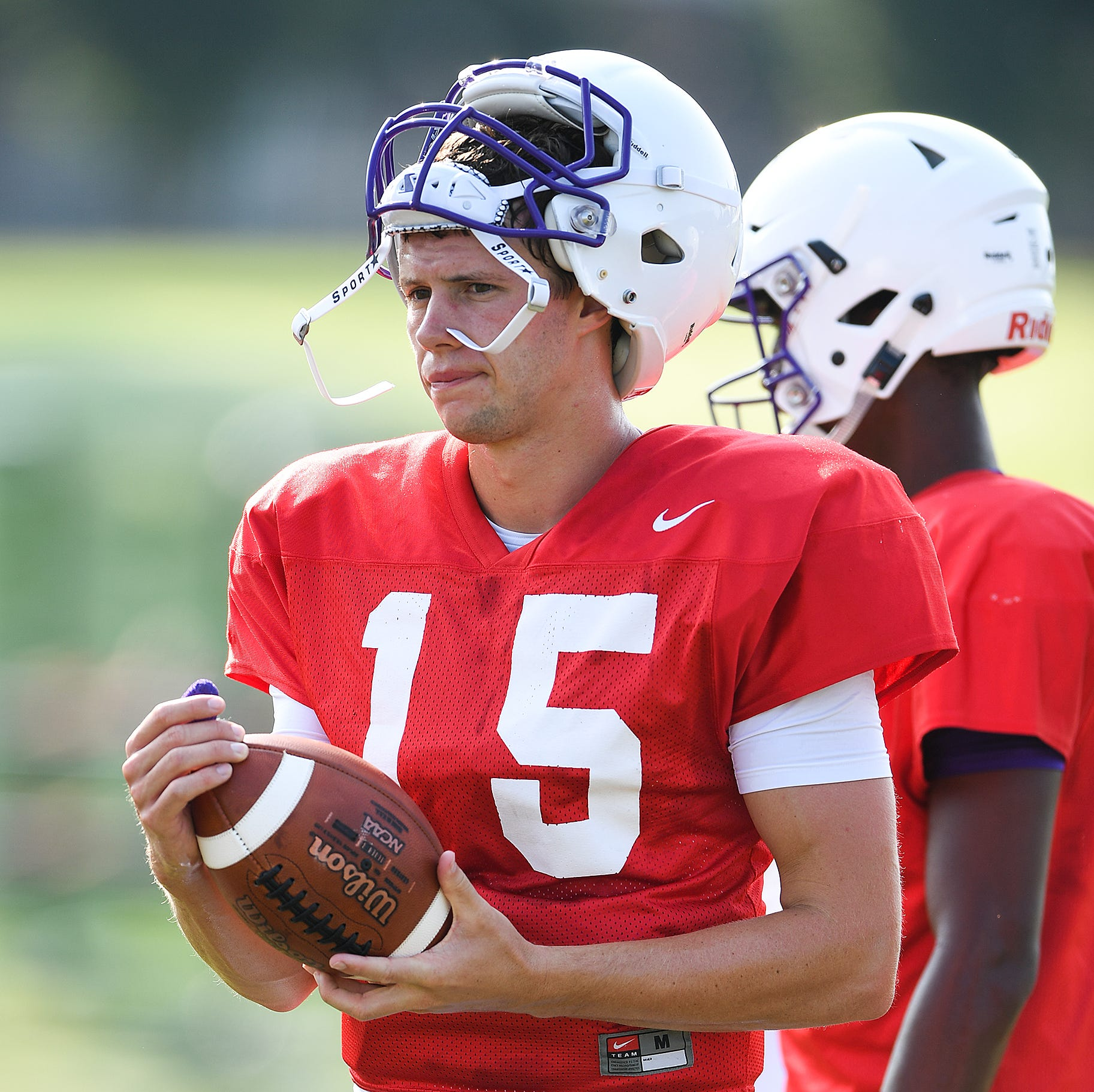 Clemson student Harris Roberts could start at quarterback for Furman