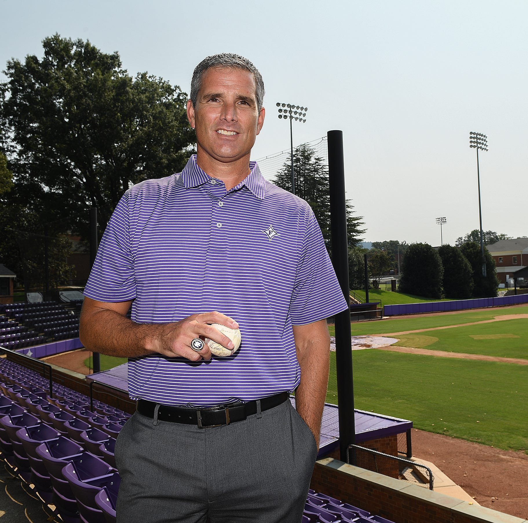 Furman AD Mike Buddie rejoins New York Yankees to celebrate 1998 World Series