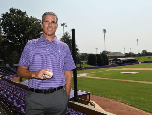 Furman Athletic Director Mike Buddie
