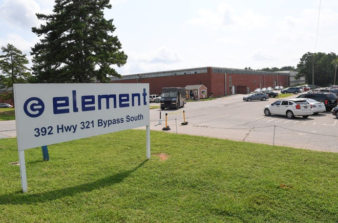 Element on state highway 321 bypass in Winnsboro is winding down to close in October following tariffs on imported parts from China. Local leaders hope an appeal to make an exception for the tariff will help keep it open.