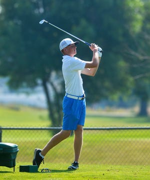 Great Falls High's Connor Mora finished tied for sixth at the Class AA State Golf Tournament in Butte on Friday.
