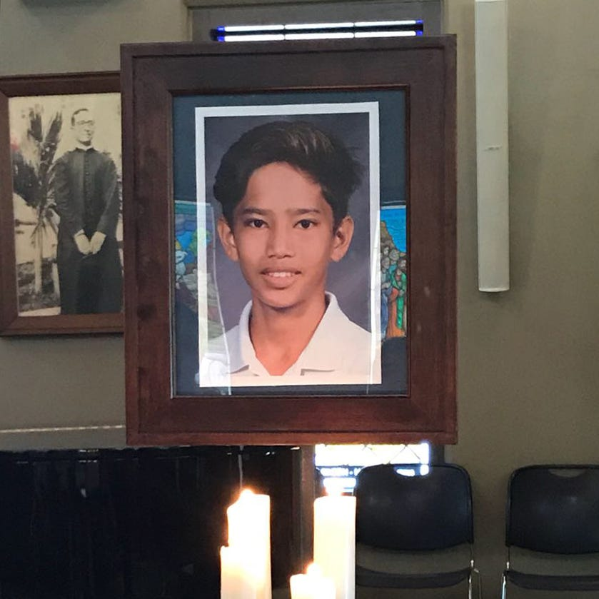 Residents mourn teen hiker Xavier Akima's death