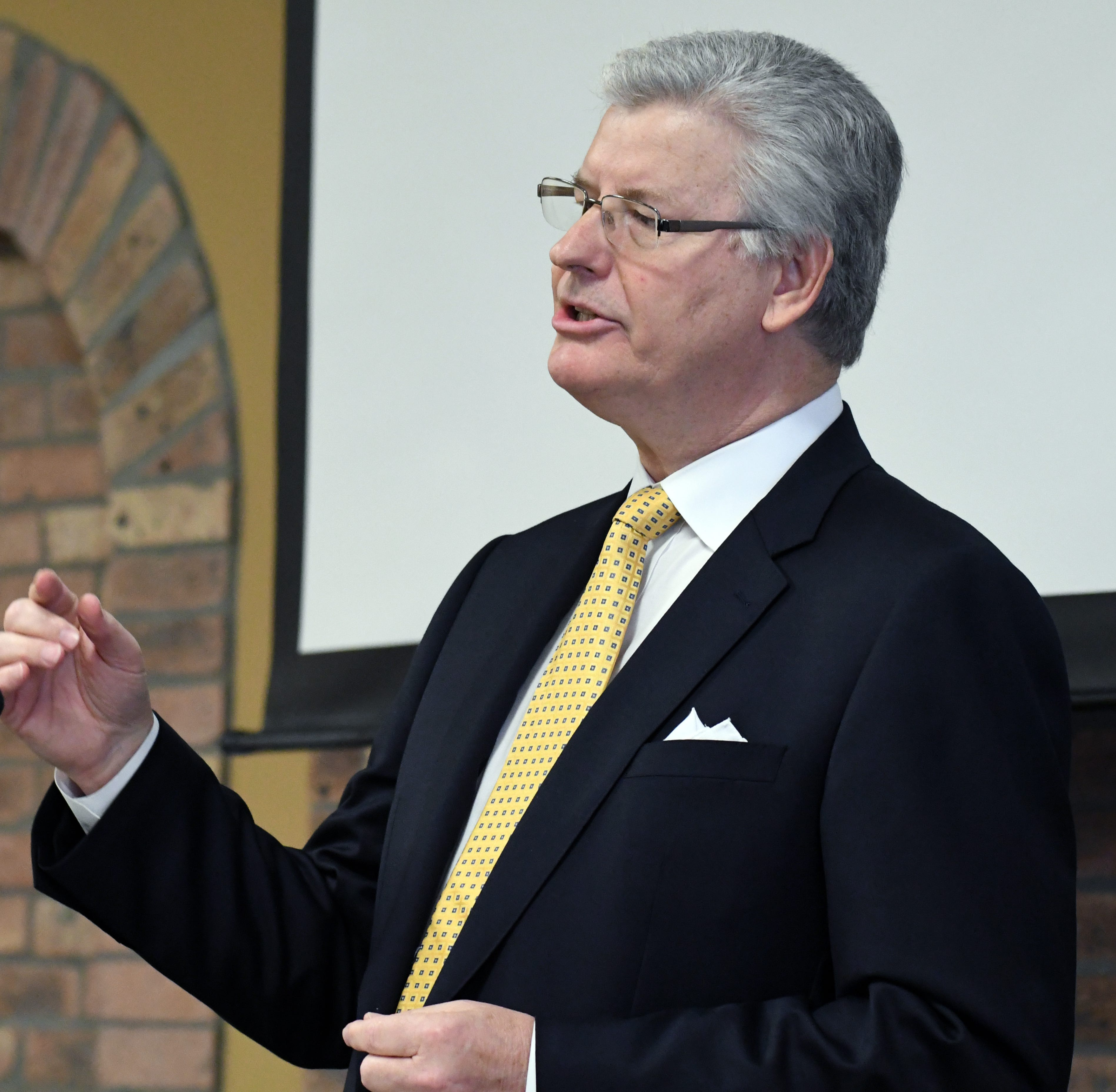 Commissioner Sam Britton talks internet, Mississippi Power rate increase and Arnold Line