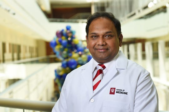 Chandan Sen, director of the Indiana Center for Regenerative Medicine and Engineering