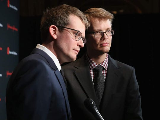 John and Hank Green will speak Sept. 30 at Clowes Hall.