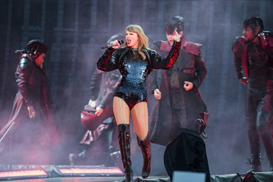 Taylor Swift will perform Sept. 15 at Lucas Oil Stadium.