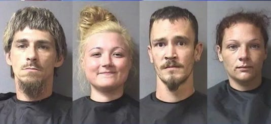 4 arrested in Anderson homicide