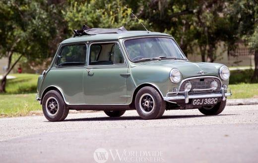 Mini Cooper Mercedes Of Paul Mccartney John Lennon To Be Auctioned