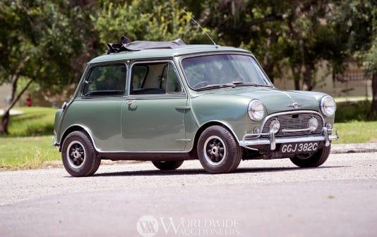 1965 Morris Mini Cooper driven by Paul McCartney