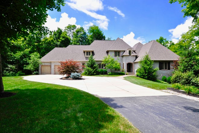 This French Manor Country home is on the market for $1,495,000 and it's at 7702 S. 775 East Zionsville