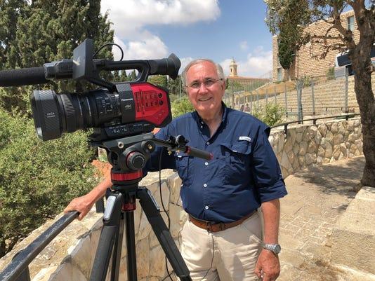 Ken Atop Mt Olives