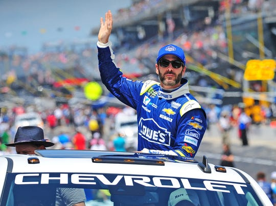 Jimmie Johnson will return to Indianapolis Motor Speedway for the Sept. 9 NASCAR race.