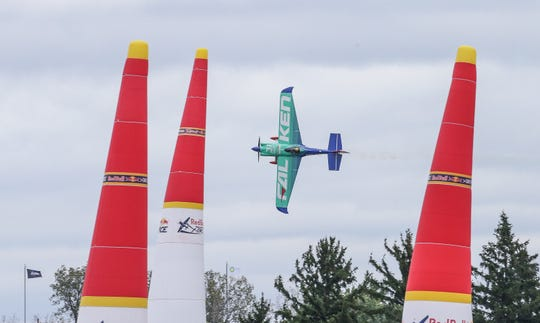 Indianapolis Motor Speedway will host the Red Bull Air Race in October.
