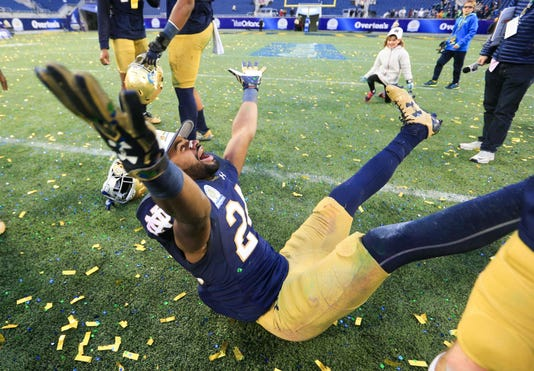 Ncaa Football Citrus Bowl Notre Dame Vs Louisiana State