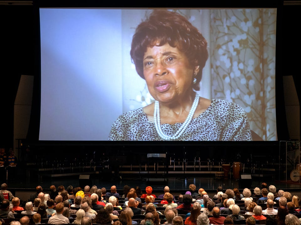 Dorothy Cotton was remembered as a mentor, an icon, a feisty feminist, and a cherished aunt during a public memorial at Cornell University's Bailey Hall Saturday afternoon.