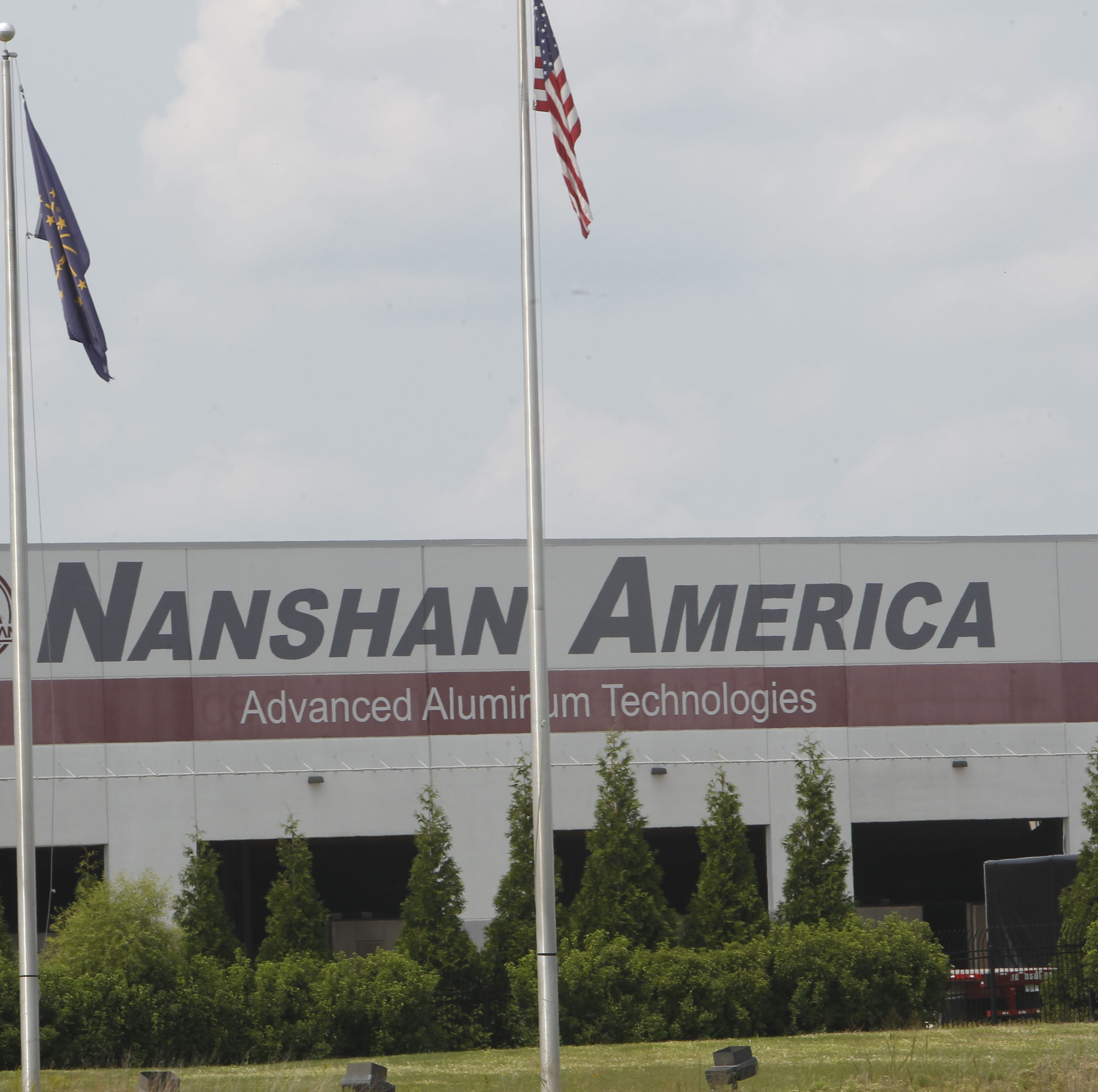 FBI agents at Nanshan America plant in Lafayette