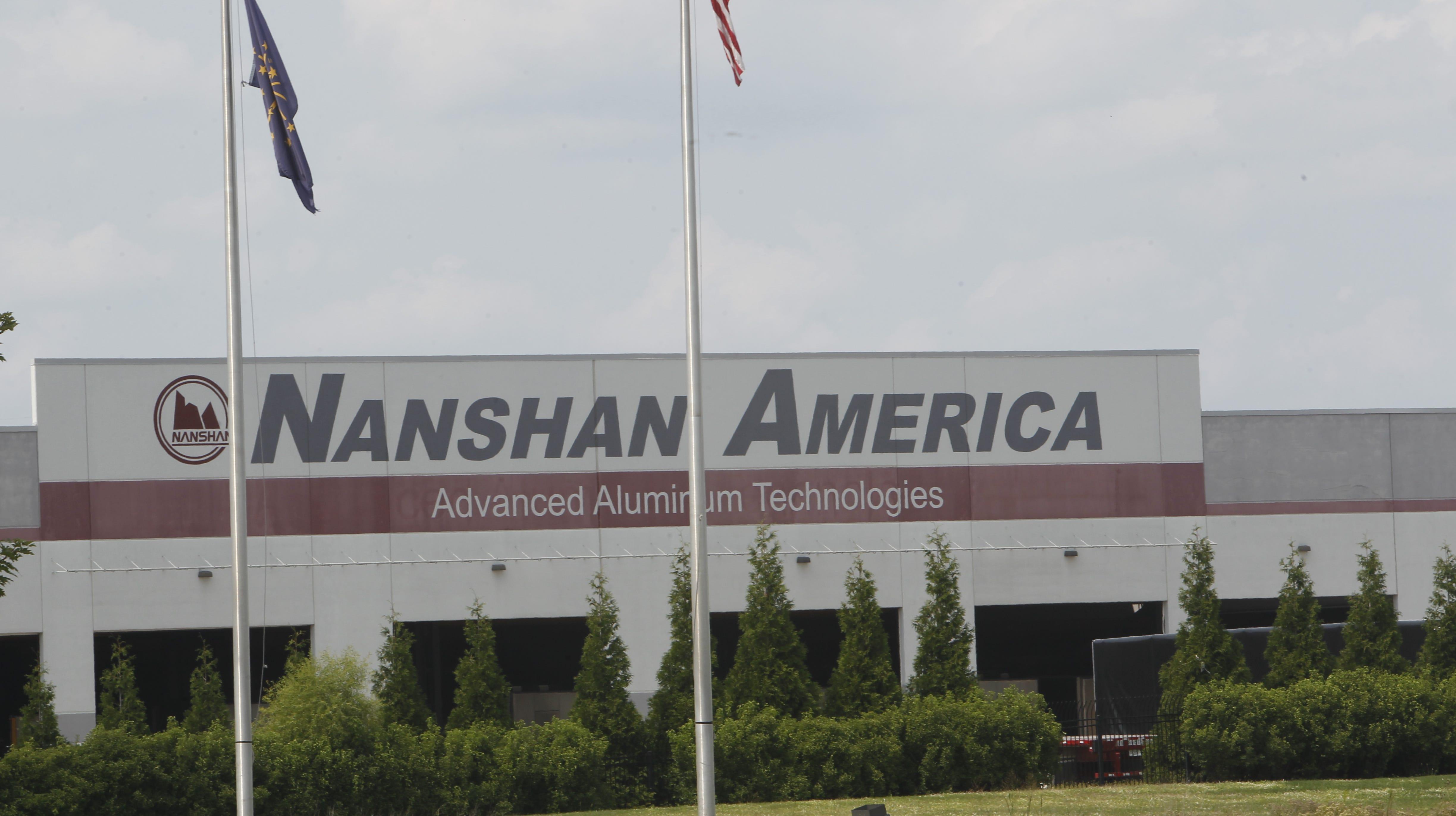 FBI agents at Nanshan America plant in Lafayette