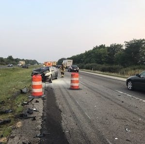 Driver causes I-65 crash and doesn't stop