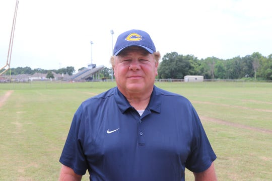 Tony Courville enters his second season as Carencro's head coach after the Bears' went 3-7 in 2017.