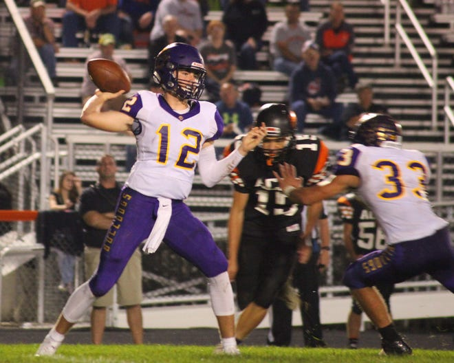 Bloom-Carroll junior quarterback Otto Kuhns had a breakout year in 2017, accounting for more than 3,000 total yards and 34 touchdowns to earn third-team All-Ohio honors.