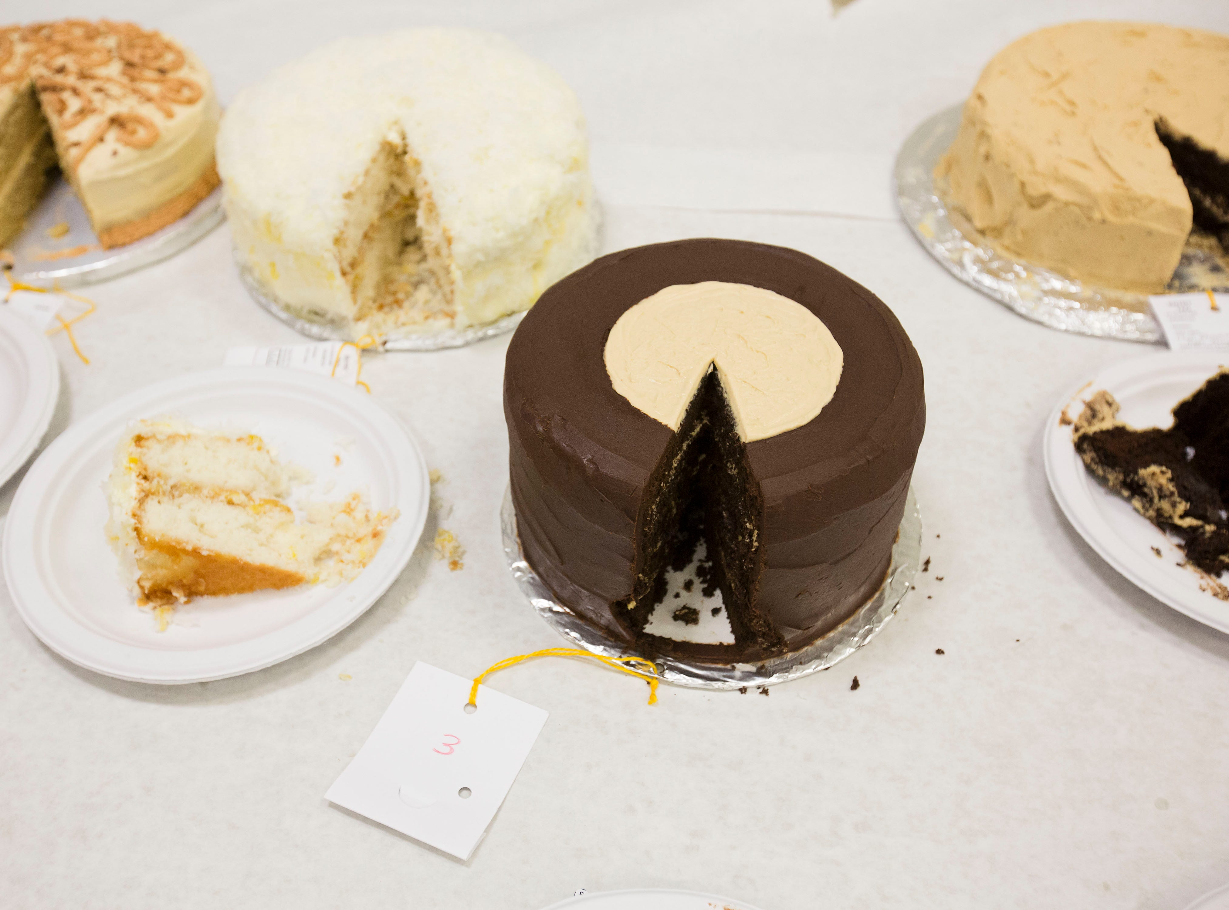 """Buckeye won third place in the category of """"Favorite Cake"""" at Tuesday's taste testing at the Kentucky State Fair on  August 14, 2018."""