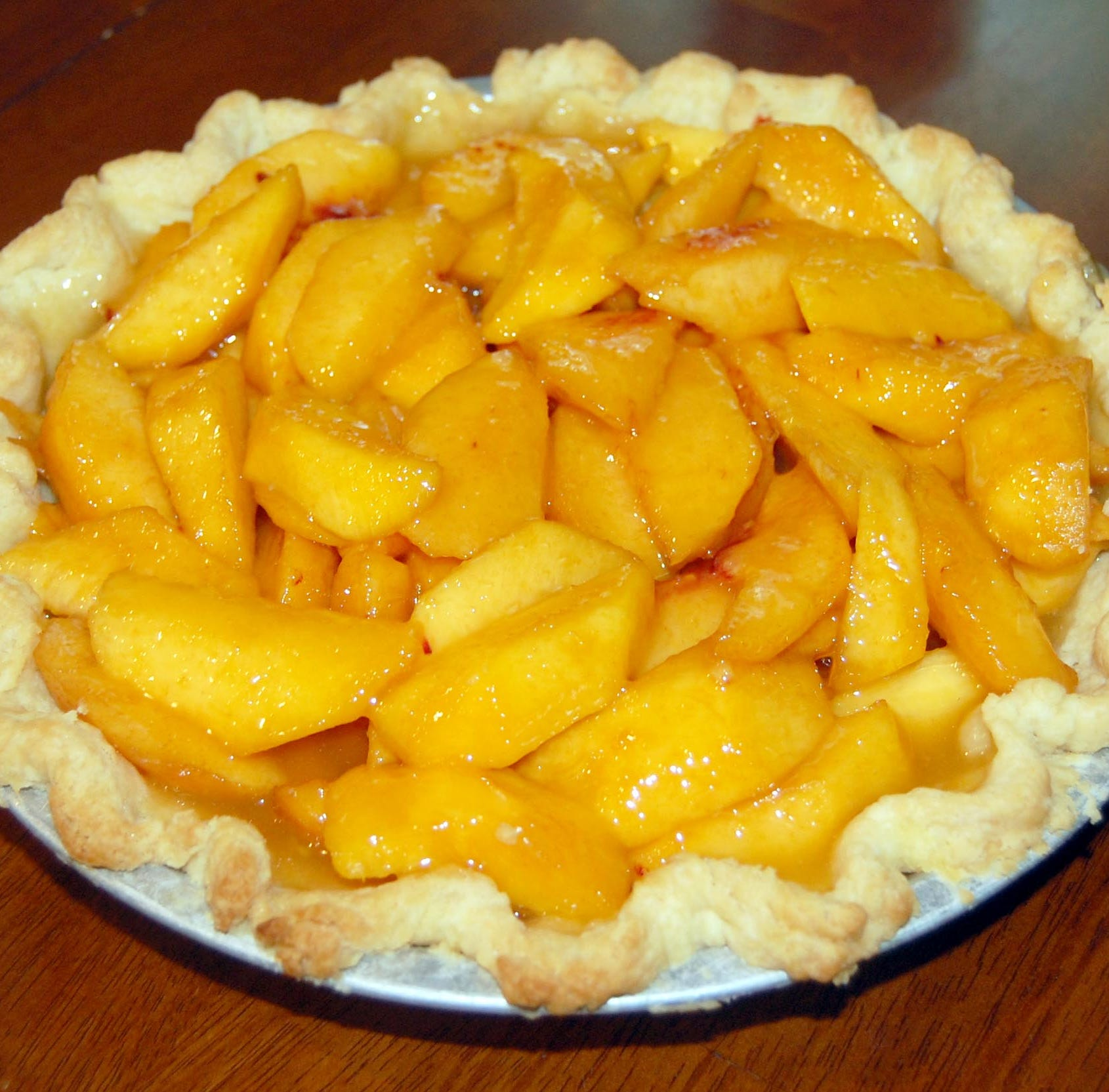 Peach pie recipe simple and delicious | Sweet & Savory