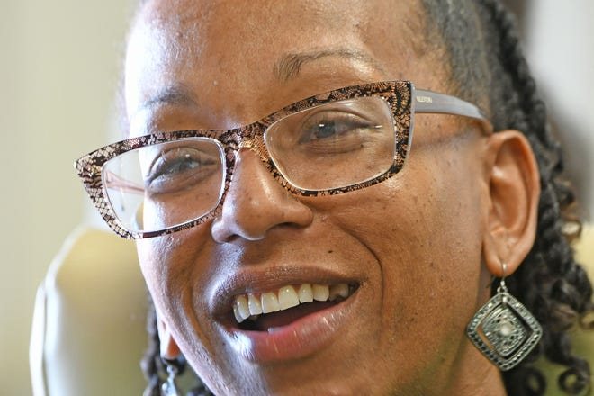 Angel Ross-Taylor is the city's new recreation coordinator.
