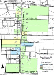 Forest Hill-Irene will be expanding and making improvements from Poplar Pike to Winchester.