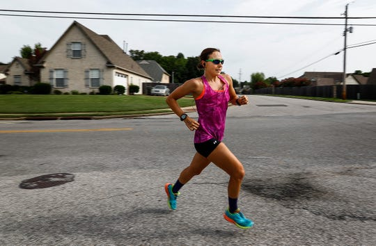 What began on a whim five years ago, when Laura Mathews entered the Memphis in May triathlon looking for motivation to stay in shape, is now her career and herpassion.