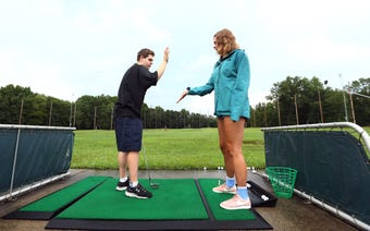 Kids2Kids pairs special needs kids with neurotypical mentors for golfing activities at the Essex Golf Center in Roseland.