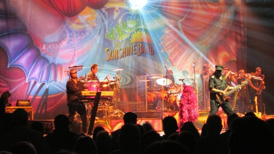 Kc And The Sunshine Band Perform At The Paragon Casino In Marksville
