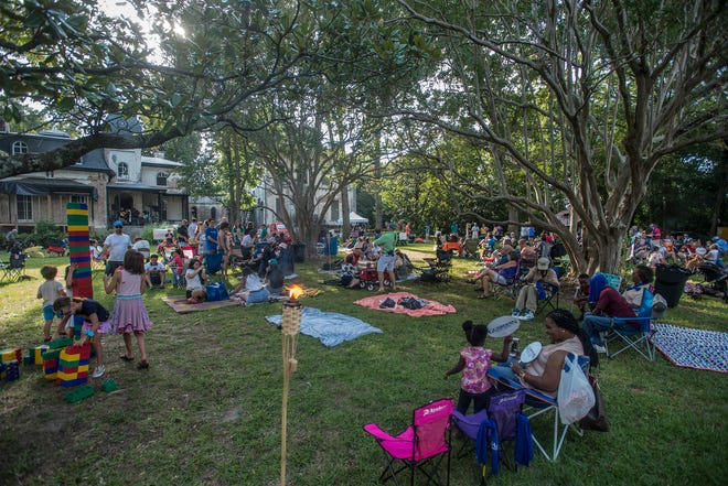 Shindig, a free concert and outdoor gathering that was also a fundraiser for Child Protect, Children's Advocacy Center, was held July 29, 2018, at Montgomery's Winter Place in Historic Cottage Hill.