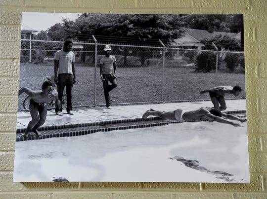 A photo of the pool at the Cleveland Avenue YMCA in Montgomery, Ala., circa 1970s, seen on Tuesday August 14, 2018.