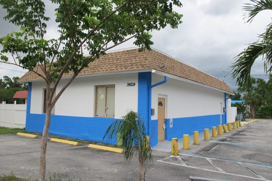 The former home of Anchor Bar & Lounge on the corner of Bayshore Drive and Lunar Street in East Naples recently was repainted and renovated in preparation for a new pizza restaurant.