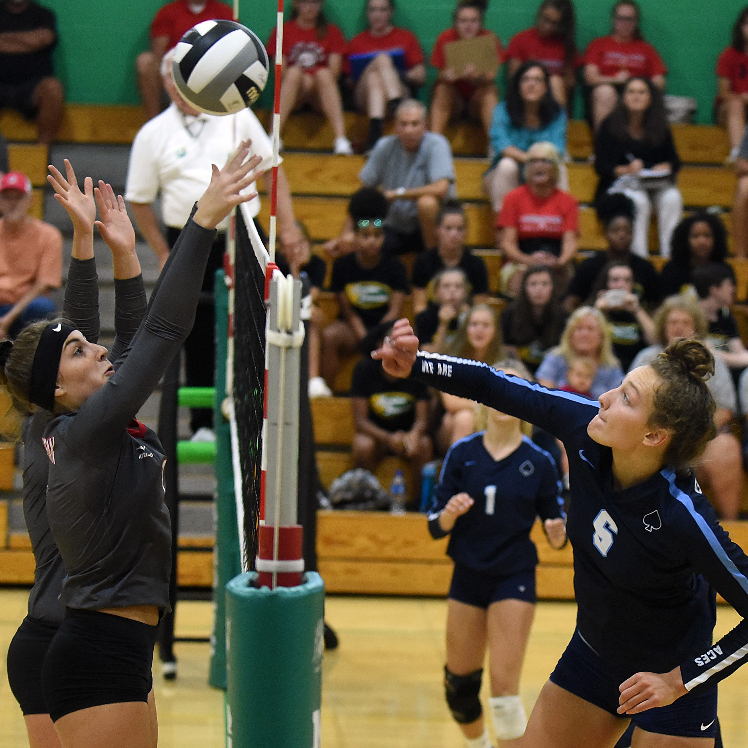 Licking County League volleyball teams attempting to knock Granville from top