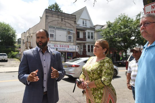 Paterson First ward Councilman Michael Jackson and Council President Maritza Davila announced a plan to have an off-duty police officer patrol Union Ave. from Kearny Street to Redwood Avenue seven nights a week from 11 p.m. to three in the morning.