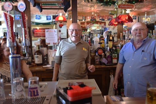 The brothers  Victor and Felix Rossi have operated Rossi's tavern after taking over for their parents, who first opened the bar in 1946. Saturday is their final day of operation