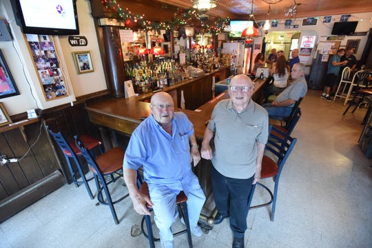 The brothers Felix and Victor Rossi have operated Rossi's tavern after taking over for their parents, who first opened the bar in 1946. Saturday is their final day of operation