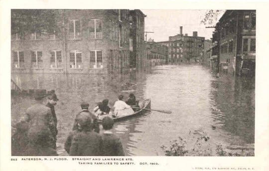 The historic 1903 flood in Paterson