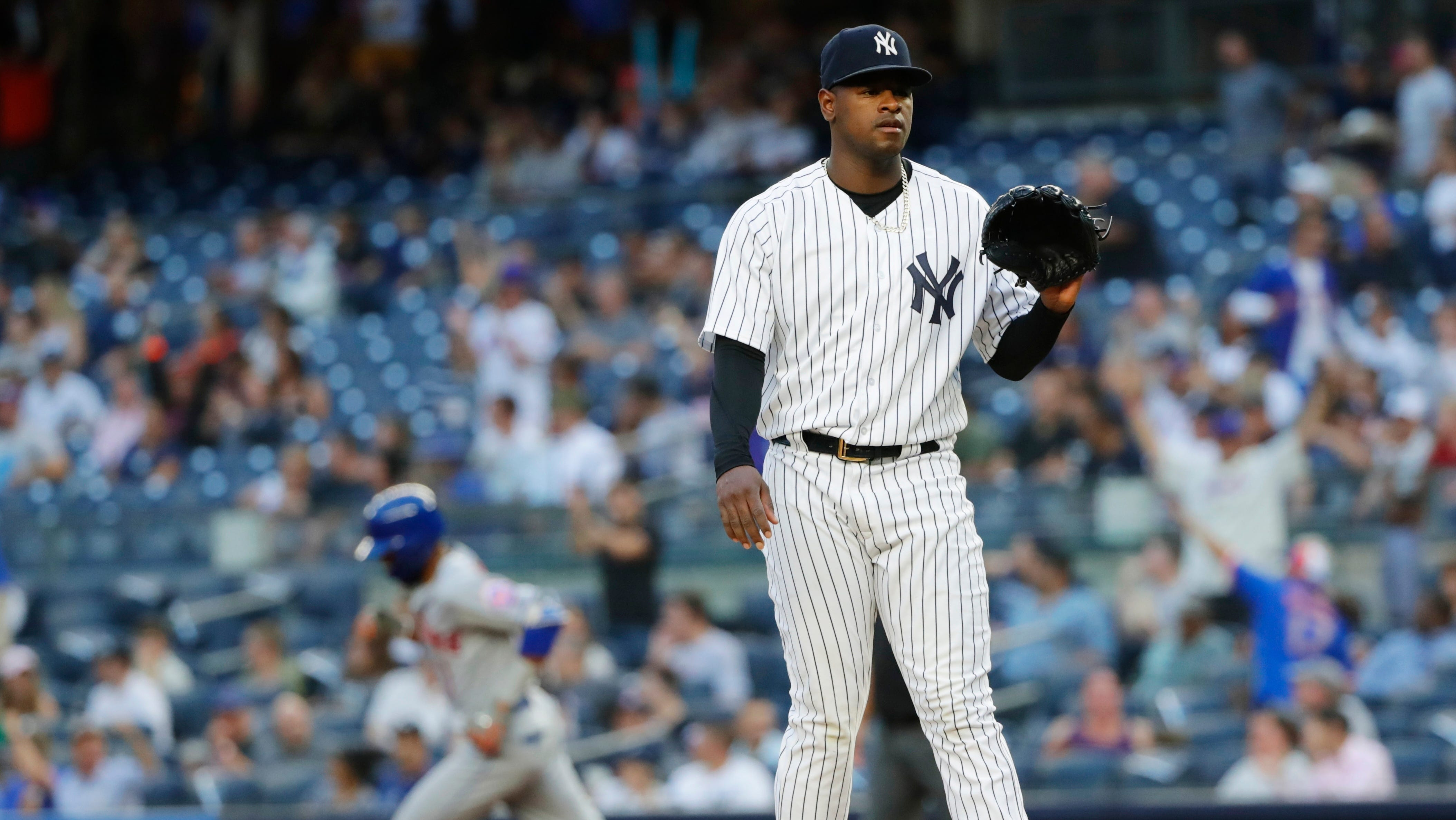 Luis Severino stumbles again as New York Yankees' ace goes 4 innings in loss to Mets
