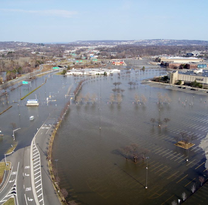 Why is flooding always so bad in North Jersey? The area was a prehistoric lake