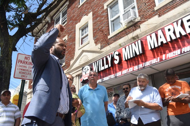 In August, Paterson First Ward Councilman Michael Jackson announced a plan to have an off-duty police officer patrol Union Ave. from Kearny Street to Redwood Avenue seven nights a week. But area merchants have since rejected plans to pay for the extra security.