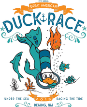 39th annual Great American Duck Race logo.