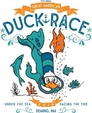 39th annual Great American Duck Race logo.