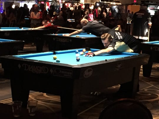 Tommy Najar, who competed in three singles events this year, including the U.S. Open 10-Ball, and finished third in the CSI Open 9-ball division comprised of the country's top players.
