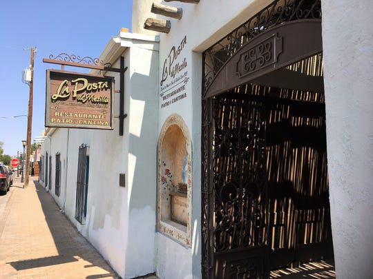 The historic La Posta de Mesilla has served as a scenic location itself as well as a place where visiting film producers and crew wine and dine.