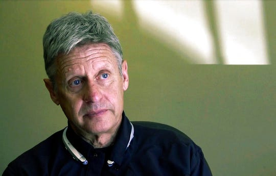 Gary Johnson, pictured in a 2016 file photo, helped the Libertarian Party reach major-party status with his 2016 presidential run. The party narrowly maintained its ballot status after the 2018 elections.