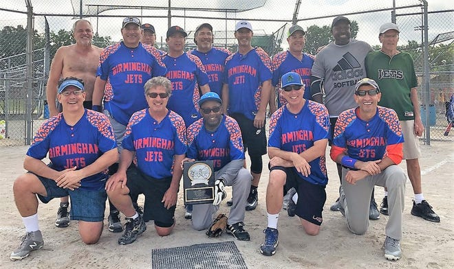 The Birmingham Jets recently won both the NWPRA's regular-season and post-season championships in the Senior (55-over) Softball League.