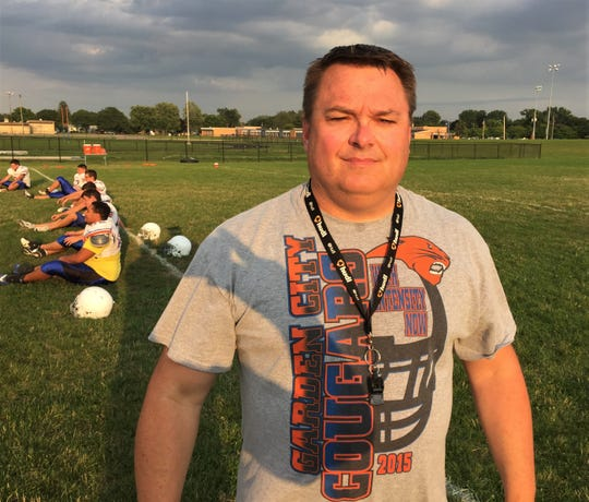 Garden City second-year coach Jim Baker is optimistic about the 2018 season.